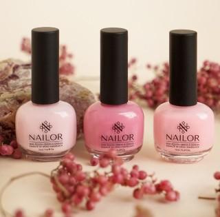 Встречайте новый европейский бренд профессиональных лаков и гель-лаков Nailor в салонах «Пальчики»
